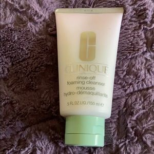 NWT New Clinique Rinse-Off Foaming Cleanser 5 oz